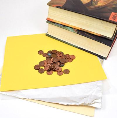 materials for paper bridge project