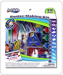 Artskills materials poster making kit