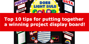 Top 10 Tips for creating a project display board