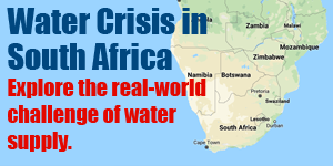 Cape Town South Africa Water Crisis--Students explore real-world challenge of water supply