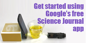 Get Started using Google's Science Journal app