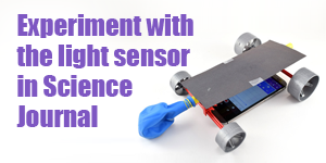 Google Science Journal and the Light Sensor