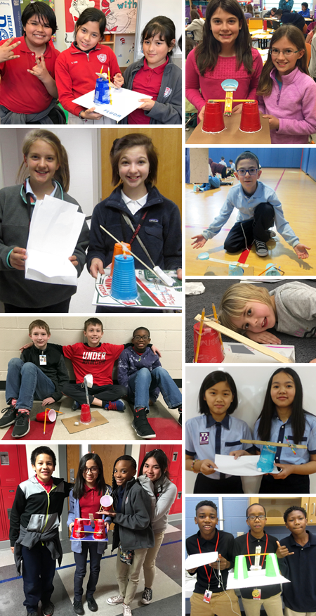 Some of the many teams that entered the 2018 Fluor Challenge