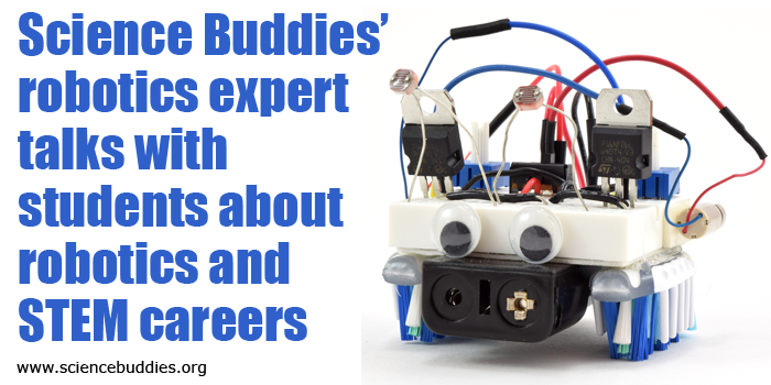 Inspiring students about robotics and STEM careers