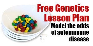 Free Genetics Lesson Plan Model the odds of autoimmune disease