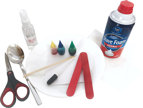 Materials for paper marbling