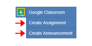 Create Assignment Button Gets an Update!!