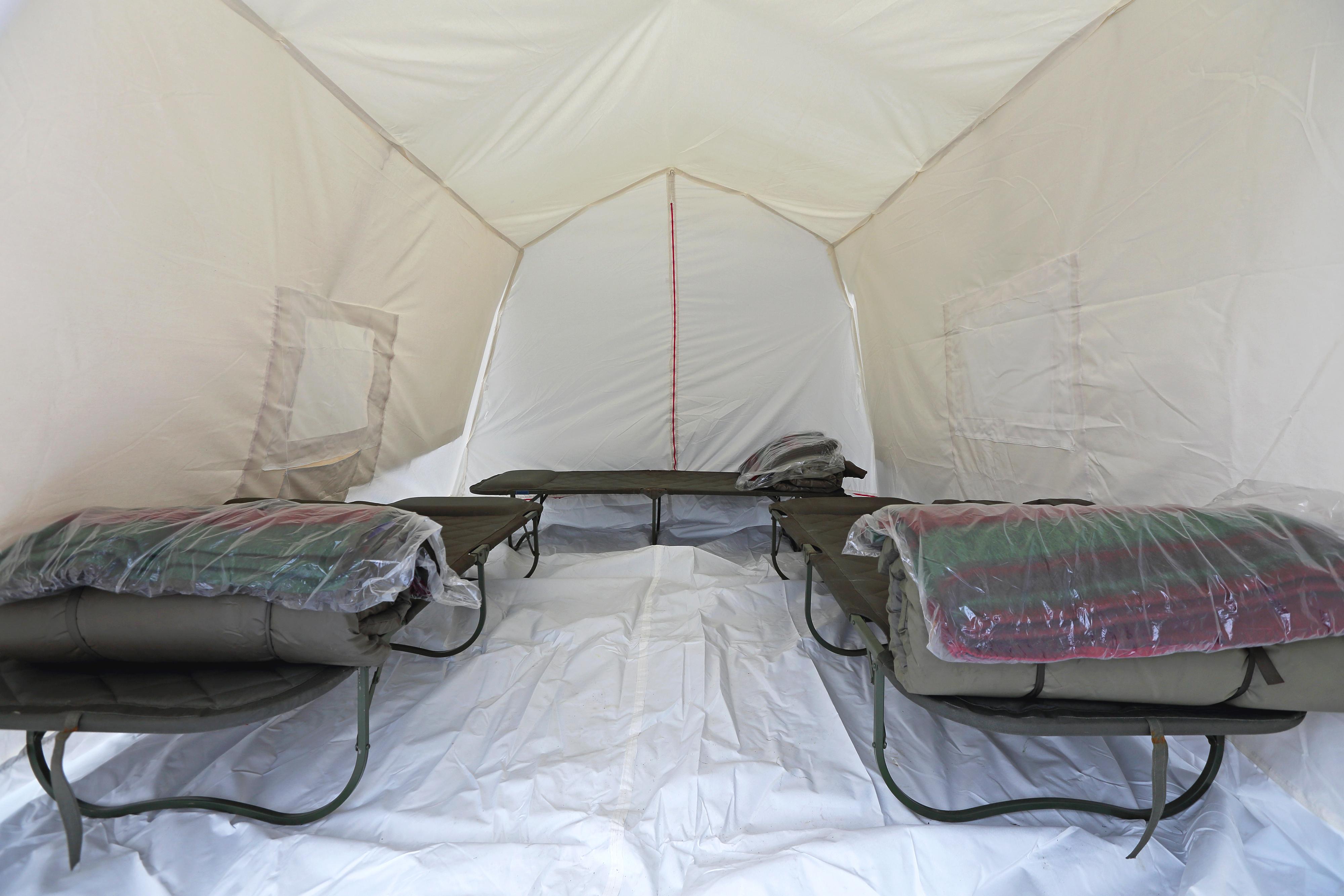 FEMA Katrina shelter