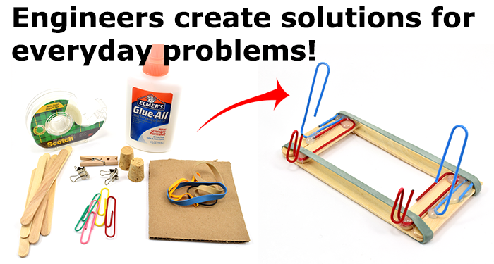 Engineers think like engineers all the time--and solve everyday problems