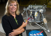 robotics engineer at NASA robot lander testing facility