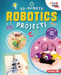 30 minute maker book robotics