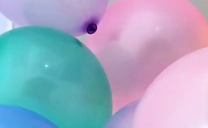 A picture of balloons