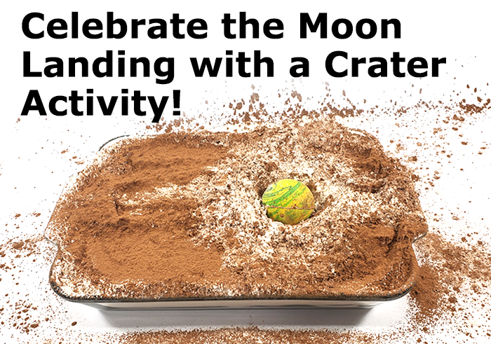 Explore Crater Science  to Celebrate Moon Landing Anniversary