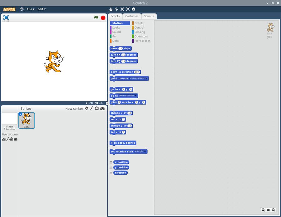 Scratch main screen 1.1