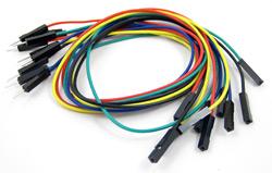 raspberry pi  M F jumper wires