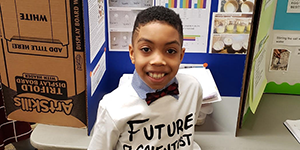 Elementary School Student Finds Science Fair Success