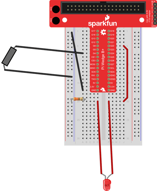 raspberry pi puppet breadboard long wires