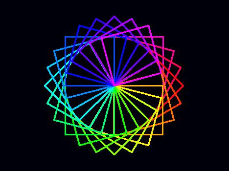 raspberry pi  spirograph square pattern