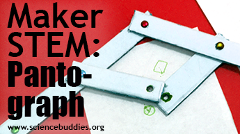 Makerspace STEM: Example of pantograph activity
