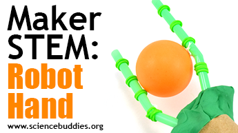 Makerspace STEM: Example of robot hand activity