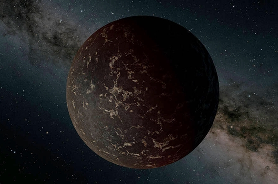 rocky exoplanet surface planet LHS 3844b discovered by NASA's TESS mission