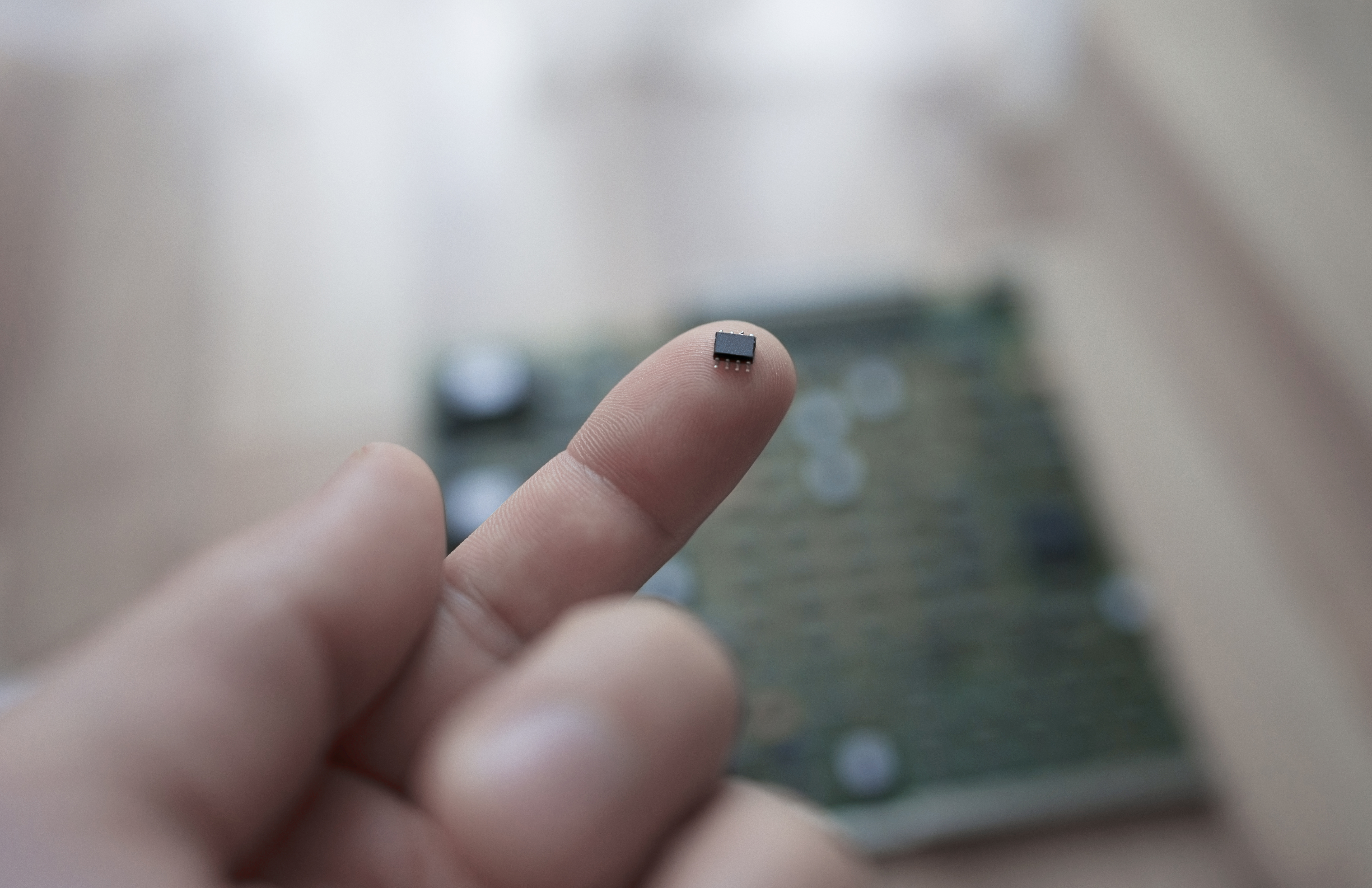 microphone MEMS devices smaller than a match head