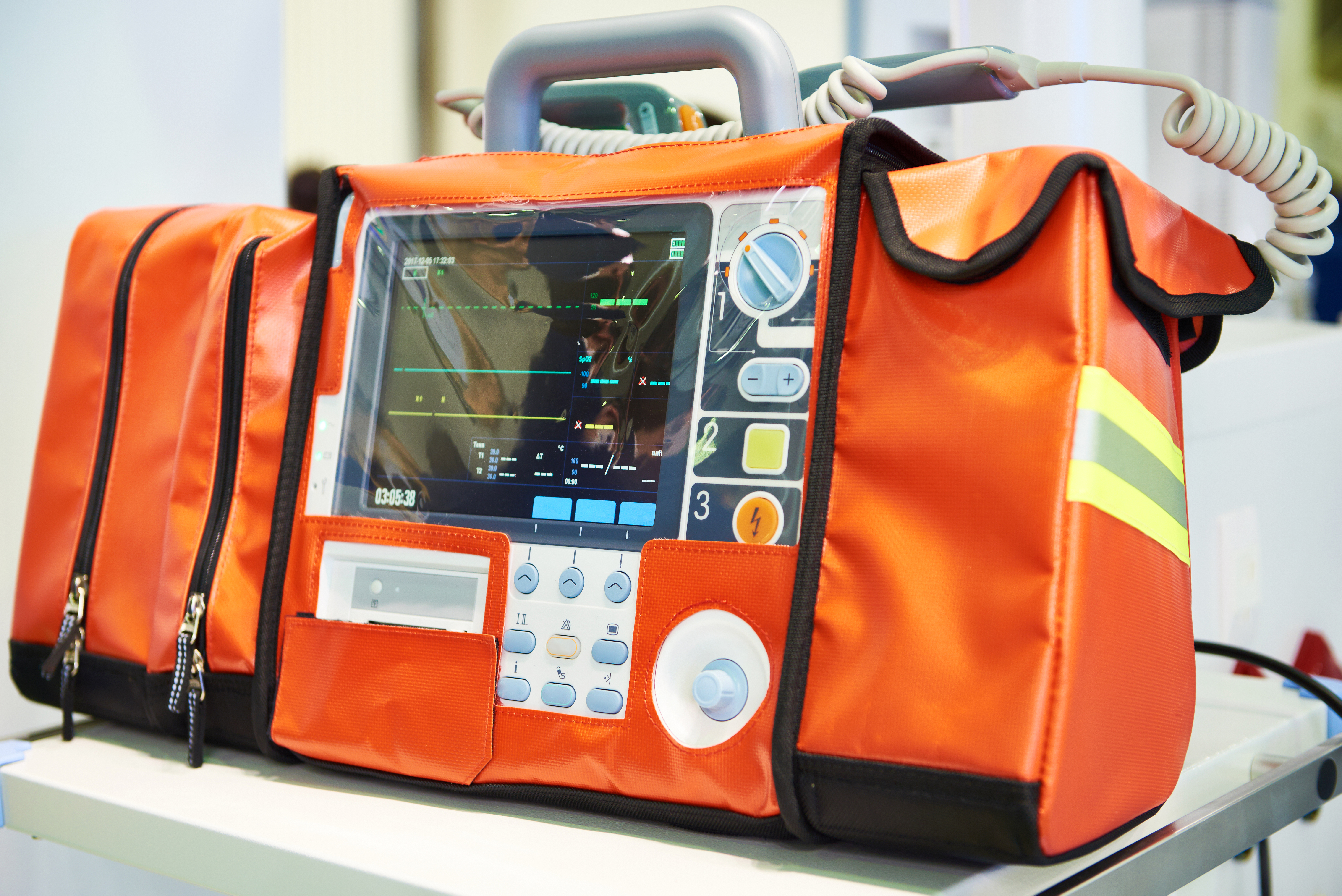 emergency room defibrillator