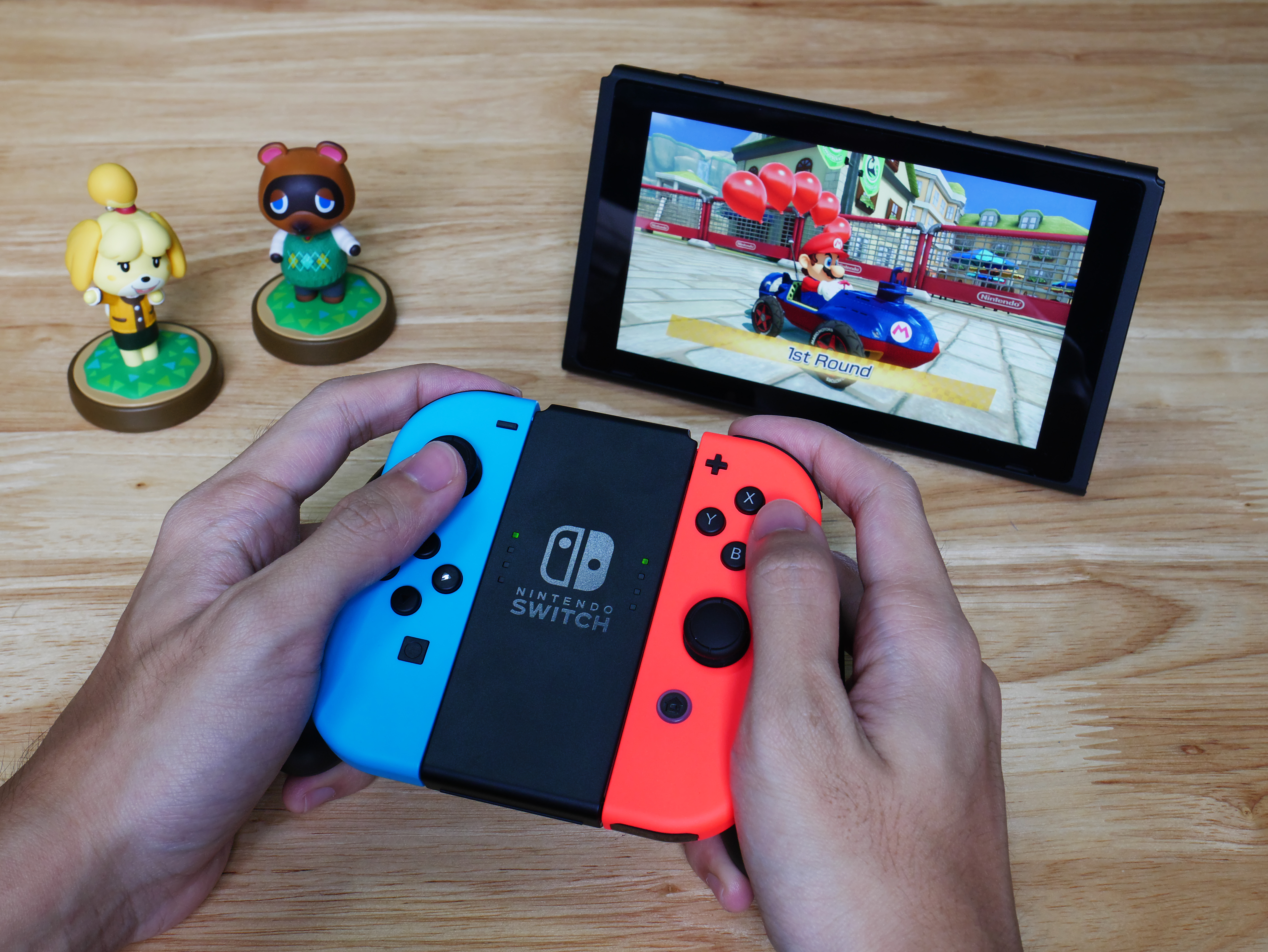 screenshot of Mii's on the Nintendo Wii