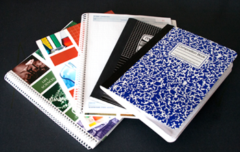 Sample laboratory notebooks for science notebooks and student science project record keeping.