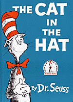Photo of the book The Cat in The Hat by Dr. Seuss