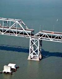 Photo of the Oakland Bay Bridge