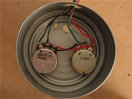 wiring the potentiometers