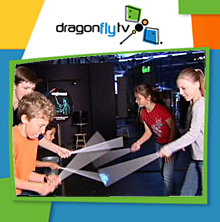 Watch DragonflyTV light and color video