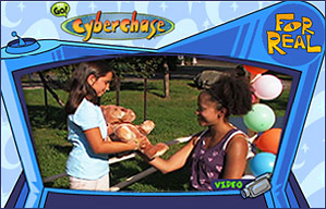 Watch CYBERCHASE For Real lever video