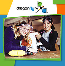 Watch DragonflyTV hovercraft video