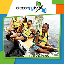 Watch DragonflyTV milk carton boat video