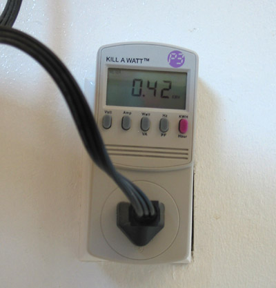 Energy and Power  Science Project Kill a Watt meter
