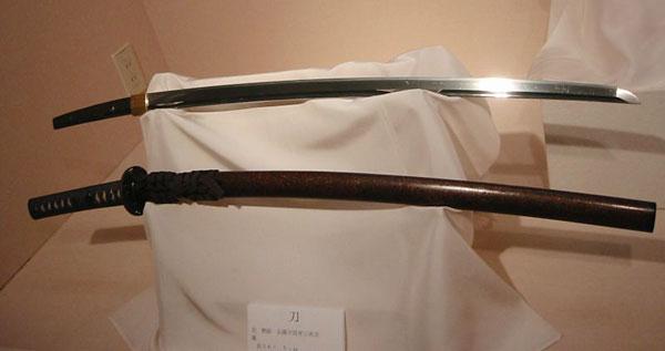 Materials  Science Project katana, samurai sword