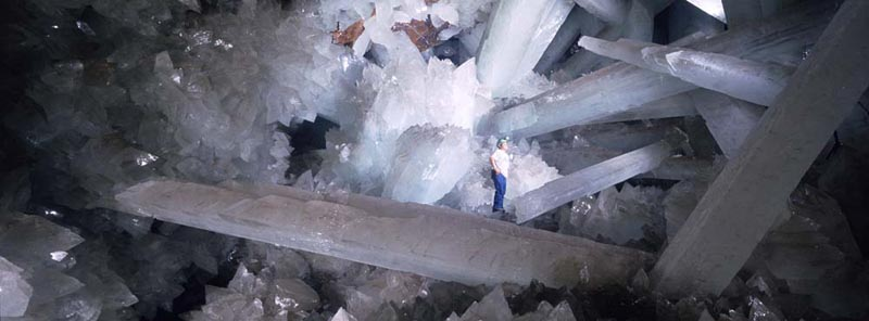 Giant Crystal Caves Mexico