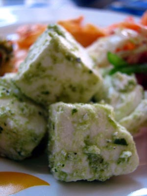 Paneer, an Indian cheese