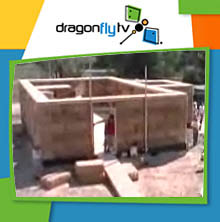Watch DragonflyTV straw house video