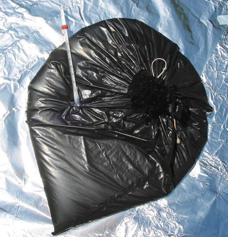Heating With Garbage Bags