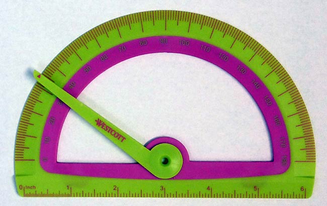 Computer Science fair project Protractor