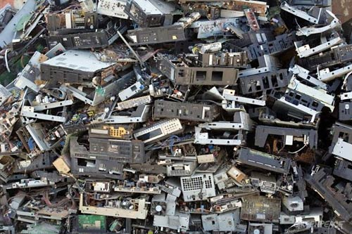 Environmental Science science  project <B>Figure 1.</B> A pile of electronic waste on a roadside in Guiyu, China gives an idea of the sheer volume of e-waste generated worldwide. (Greenpeace/ Natalie Behring-Chisholm, n.d.)