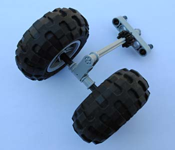 A pivot will enable the robot to move smoothly in a circle. Robotics science project