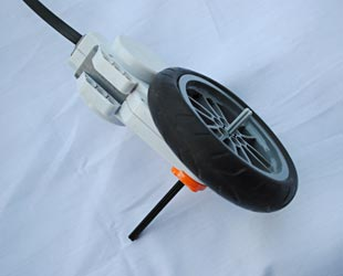 Wheel and motor