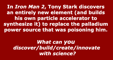 Iron Man 3 Science -- What will you discover?