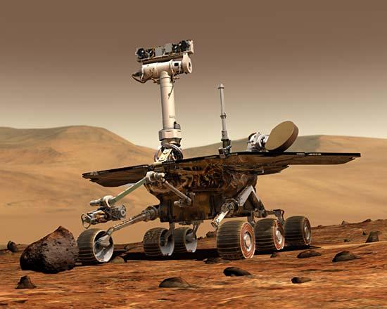 Robotics science project NASA Mars rover curiosity