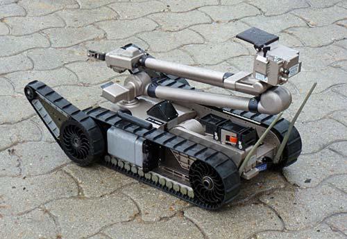 Robotics science project  iRobot Packbot bomb disposal robot