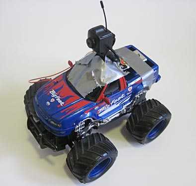 Robotics science project Search and rescue radio controlled robot car with camera